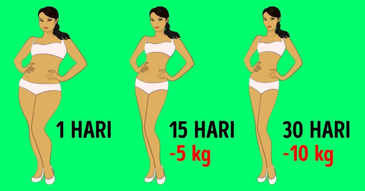 10 Tips Menurunkan Berat Badan kalau Dietmu Tidak Berhasil